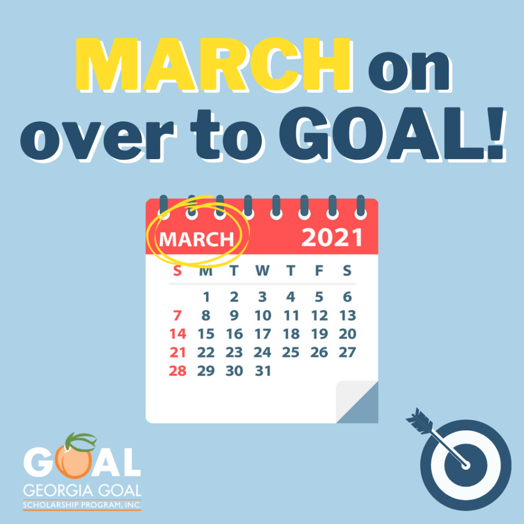 MARCH On Over